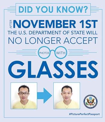No Glasses graphic