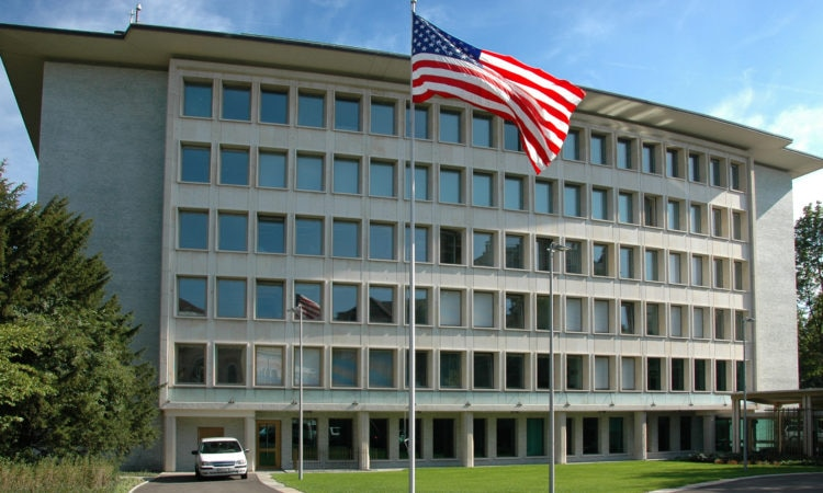 Image result for us embassy bern