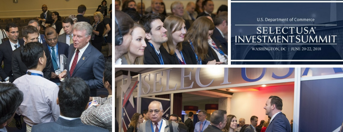 Registration Now Open For 2018 SelectUSA Investment Summit