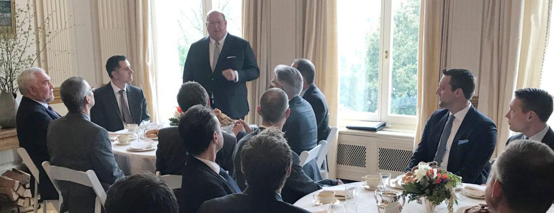 Ambassador McMullen Hosts U.S. Business Delegation and Swiss Business Executives