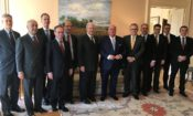 Ambassador Edward T. McMullen, Jr. hosted Indiana Commerce Secretary